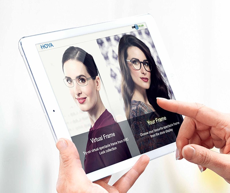 Hoya Vision provide the ultimate customer experience hvc look