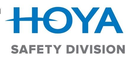 Hoya safety division logo on white background