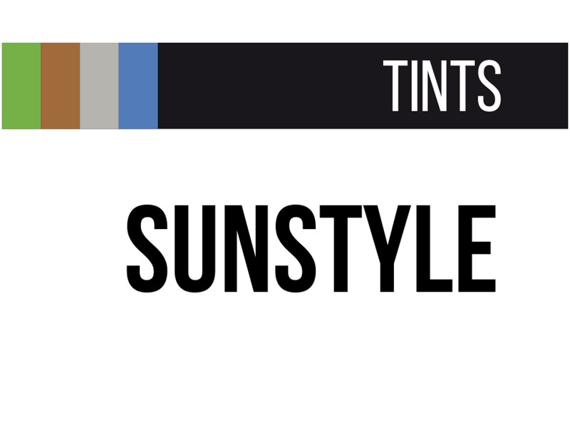 Sunstyle tints logo black and white