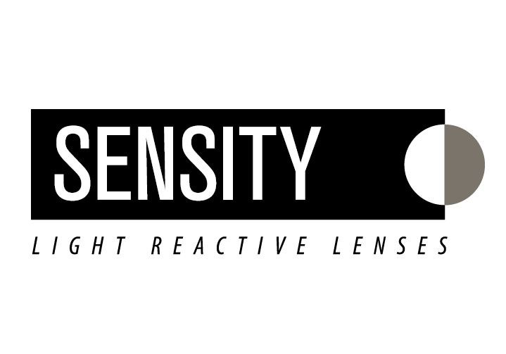 Black and white sensity logo