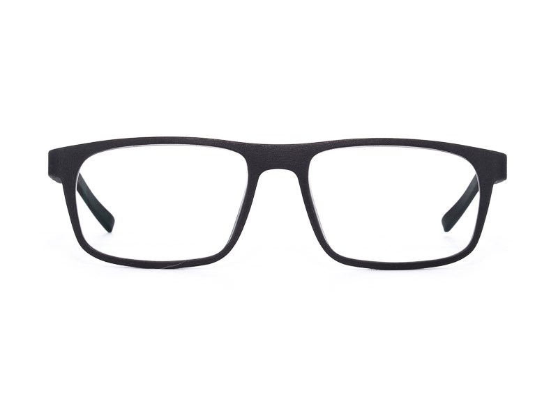 Front shot of Yuniku navy frames